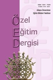 Ankara University Faculty of Educational Sciences Journal of Special Education